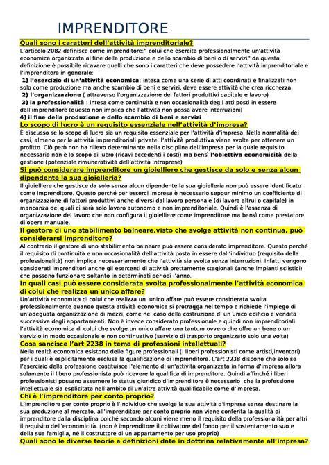 diritto commerciale dispensa domande per l esame di diritto commerciale