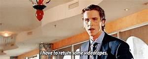 American Psycho GIFs - Find & Share on GIPHY