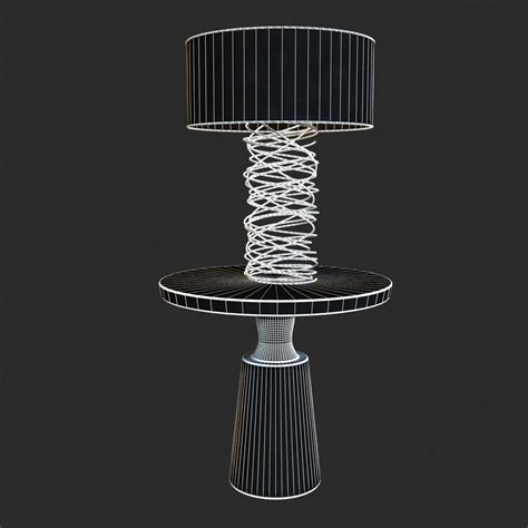 ralph pucci lighting ralph pucci table lighting tornado l 3d model max obj