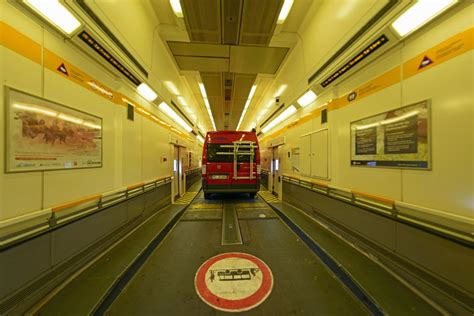 Driving Through The Channel Tunnel