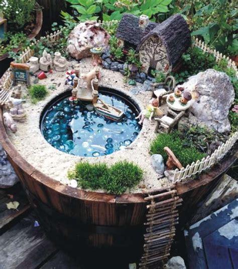idees creatives de jardins miniatures  faire soi meme