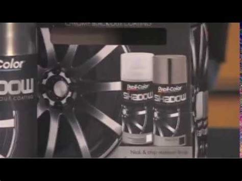 dupli color shadow chrome black out coating youtube