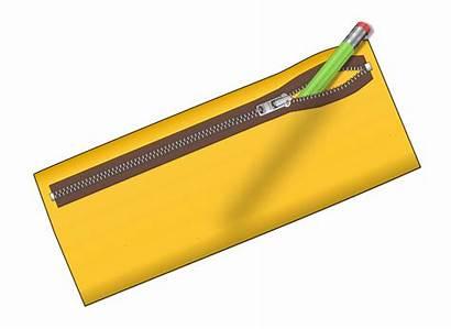 Pencil Case Clipart Yellow Clip Cliparts Clipground