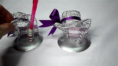 metal wire crafted ladys hat party favors  wedding