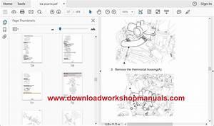 Kia Picanto 2004 To 2011 Workshop Repair Manual