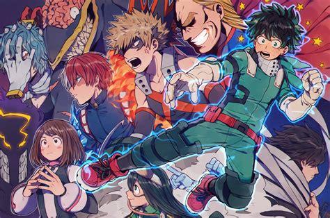 My Hero Academia Wallpaper Phone Download 2560x1700 Boku No Hero Academia Midoriya Izuku Bakugou Katsuki Uraraka Ochako Asui
