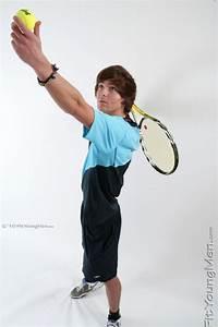 Fit Young Men: Model Perry Junior - Tennis Player - Slim ...
