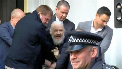 Assange Julian Arrested Arrest Wikileaks Founder London