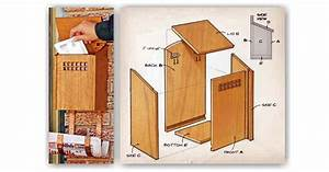 Wooden Mailbox Plans • WoodArchivist