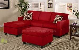 Awesome modern minimalist red sofas zebra cushion decor for Zebra sectional sofa
