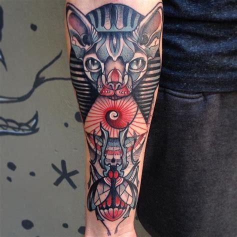 mysterious egyptian mythology tattoos tattoodo