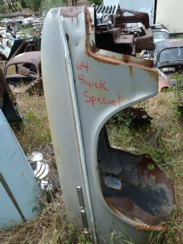 Buick Special Front End Parts