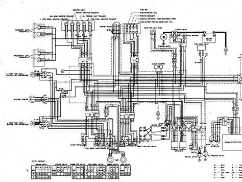 1978 Honda Cb750k Wiring Diagram by 1975 Cb750f Wiring Diagram Circuit And Wiring Diagram