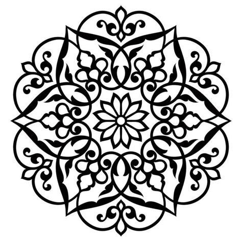 love mandala stencil   world