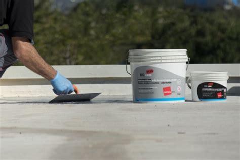 prodotti impermeabilizzanti per terrazzi prezzi wg cem plus guaine liquide e cementizie per tetti