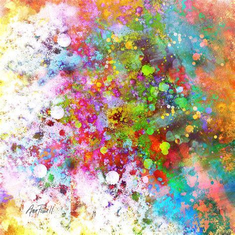 color painting color splash