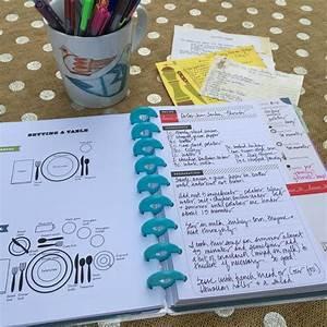 The Happy Planner U00ae Recipe Organizer  U2013 Me  U0026 My Big Ideas
