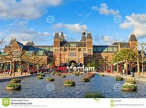 Tourisme Amsterdam De Ressort Photographie Ditorial
