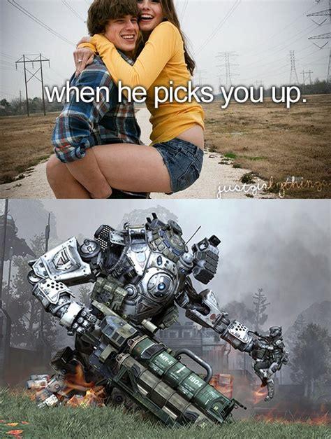 Titanfall Memes - just titan things titanfall video game fun pinterest gaming