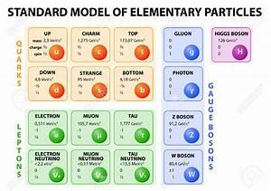 EL FÍSICO LOCO: Modelo estándar de la física de partículas