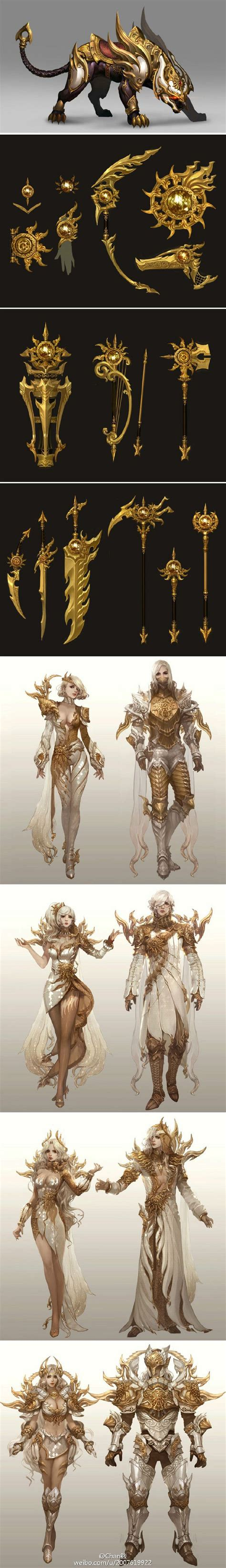 156 best about aion armors concept and