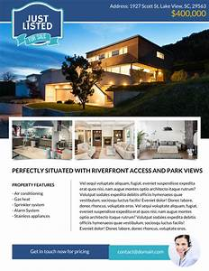 The best real estate flyer for all realty companies for Real estate just sold flyer templates