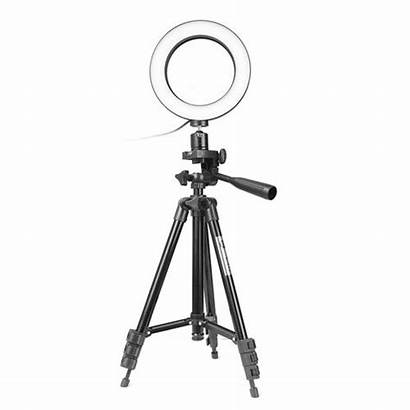 Ring Tripod Dimmable Lamp Camera Phone Led