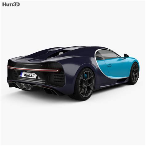 3d model created maximally close to a real bugatti car and based on the dimensions from open sources. Bugatti Chiron 2017 3D model - Vehicles on Hum3D