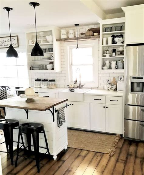 26+ Wondrous Kitchen Interior Vintage Rustic