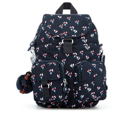 kipling s firefly backpack small flower