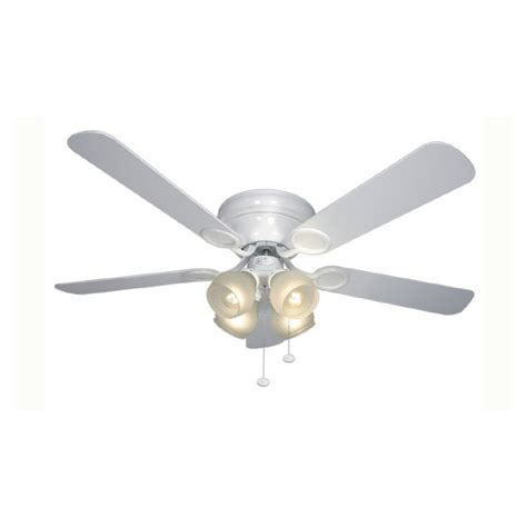 Harbor 52 Inch Ceiling Fan White by Shop Harbor 52 Quot Cheshire Matte White Ceiling Fan At