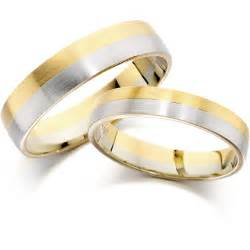 gold wedding ring bridesmaid dresses wedding band in 9 ct yellow and white gold