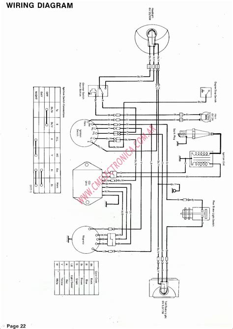 Yamaha Atv Wiring Diagram Database