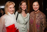 Pia Lindstrom, Dr. Ingrid Rossellini, PhD. and Isabella Ro ...