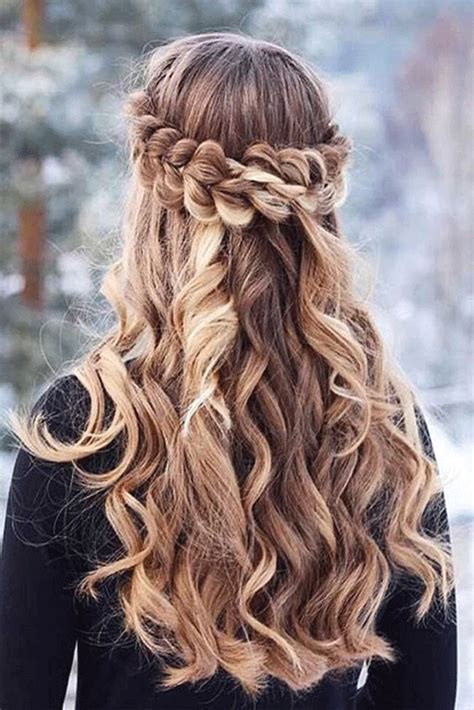 awesome winter hairstyle ideas  short long hair