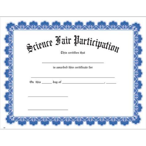 Stem Certificate Template by Science Fair Certificate Template Stem Certificate