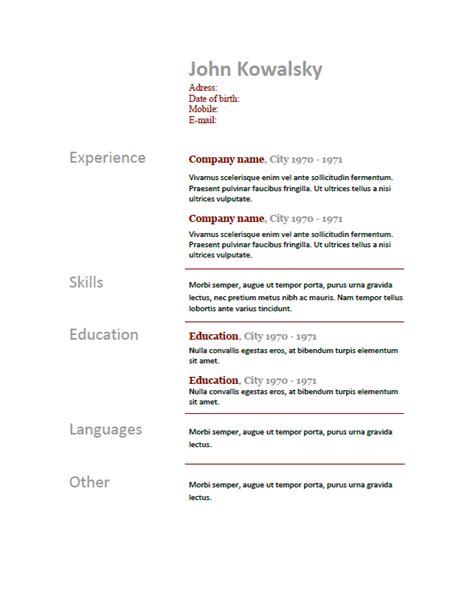Not Fluent In Resume by How To Make A Resume
