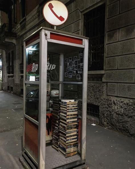 cabine telefoniche italia spuntano cabine telefoniche e diventa una macchina