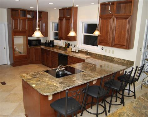 Granite Countertop Kitchen Island by How To Choose The Best Granite Countertops For Kitchen