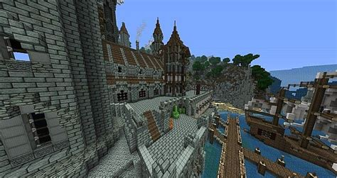 parverhill castle minecraft building ideas  minecraft building