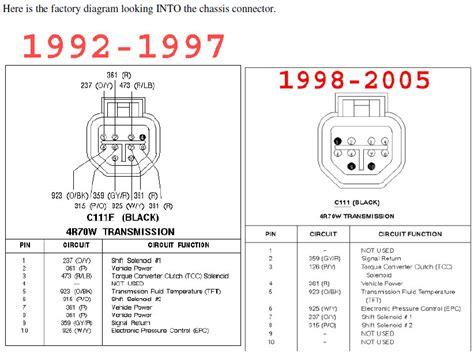 1994 Econoline E4od Wiring Schematic by 4r70w Efidynotuning