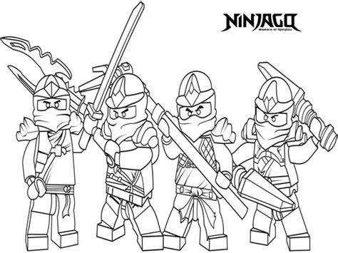 Ninjago Lloyd Kx Free Coloring Pages