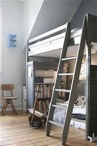 Ikea Bett Kinderzimmer : 1000 images about hochbett on pinterest loft beds loft and loft bed frame ~ Frokenaadalensverden.com Haus und Dekorationen