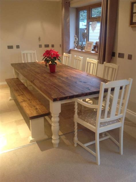 farmhouse kitchen table seats 6 best 25 dining table bench ideas on bench for