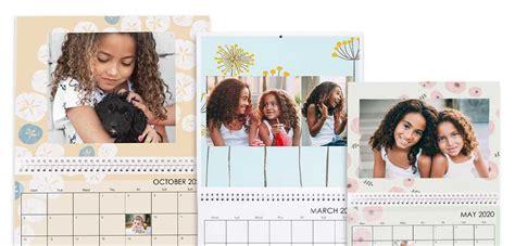 photo calendar personalised desk wall calendars snapfish