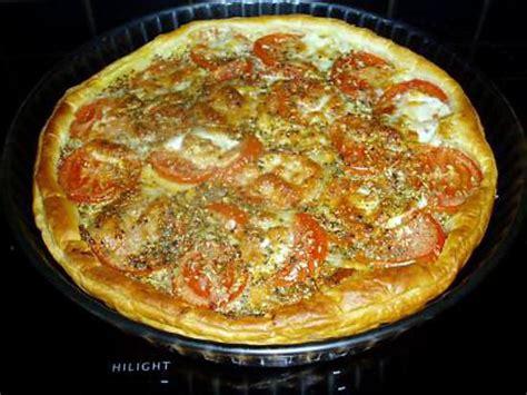 recette de tarte sal 233 e 224 la tomate
