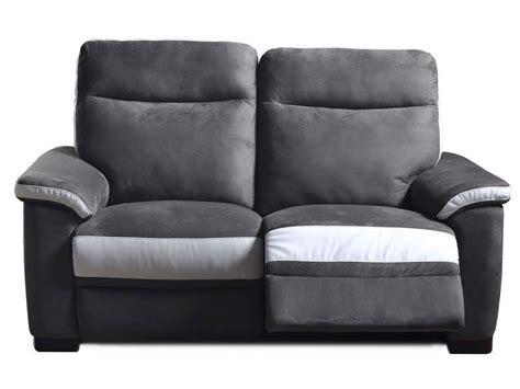 canapé 2 places relaxation électrique canapé de relaxation électrique 2 places nlk conforama