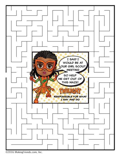 orange petal superhero maze twilight makingfriends