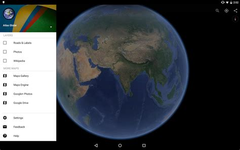 Gogole Images Earth F 252 R Android