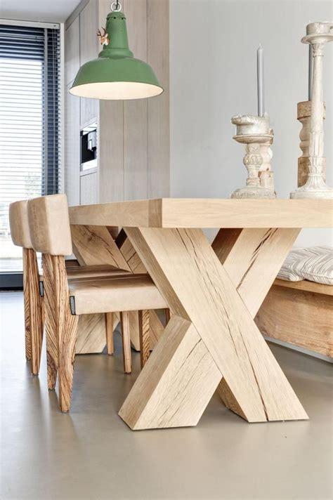 table cuisine bois brut les 25 meilleures idées concernant table bois brut sur